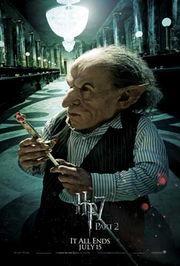(wikiaより) 「ハリーポッターと賢者の石」では主人公ハリーポッターとハグリットをグリンゴッツ銀行の地下へと案内しました。